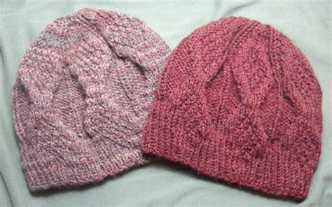 free hat knitting patterns using needles knitting patterns galore mock aran mens hat