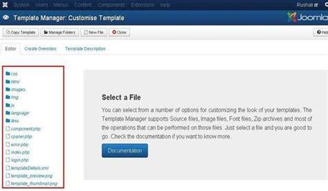 customize joomla template joomla customize template