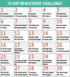 30 day workout plan for at home 25 best ideas about beach body challenge on pinterest 30 day workout challenge beach body