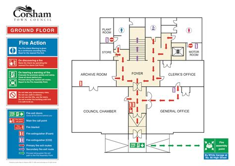fire escape floor plan image gallery evacuation plan