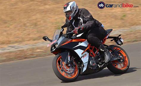 Ktm Rc 390 Review 2017 Ktm Rc 390 Ride Review Ndtv Carandbike