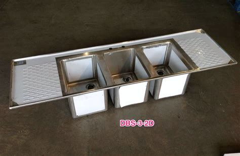 3 compartment drop in sink stainless steel drop in sinks commercial drop in sink