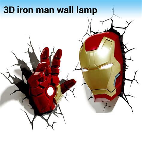Iron Man Wall Mural achetez en gros avengers 3d mur lumi 232 re en ligne 224 des