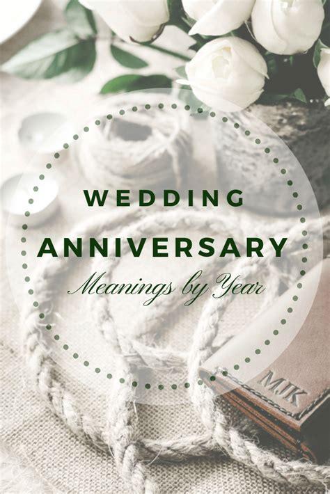 Wedding Anniversary Meanings by Year   JooJoobs
