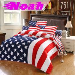 King Size Bed Sheet Dimensions Usa Usa Flag Bedding Set King Size American Pie Cotton Bed
