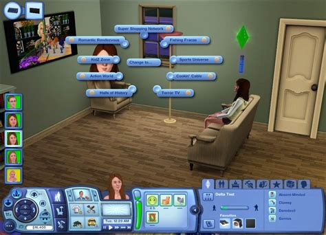 download mod game the sims 3 mod the sims unlocked tv channels mods sims 3 seasons
