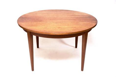 table de salon vintage table de salon vintage en teck 224 rallonge de omann jun