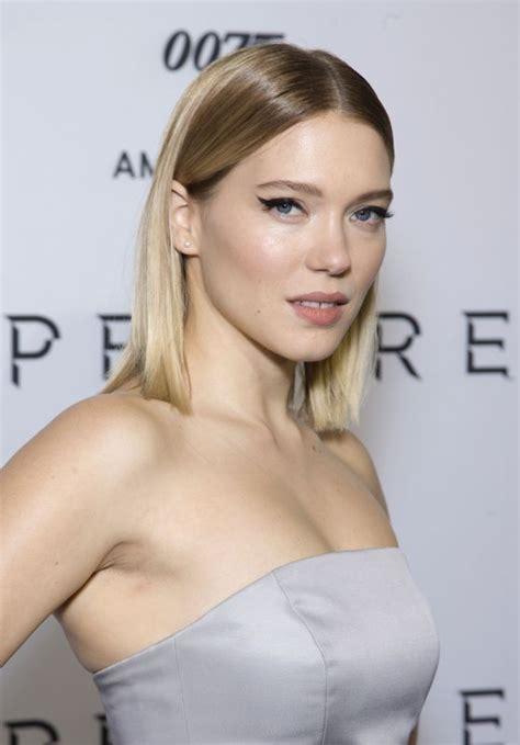 lea seydoux actress lea seydoux spectre premiere in amsterdam blonde on