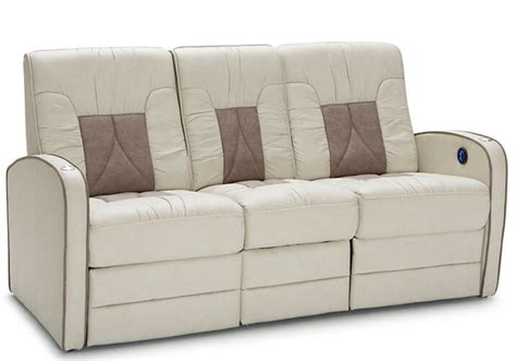 rv sectional sofa de leon rv double recliner sofa rv furniture shop4seats com