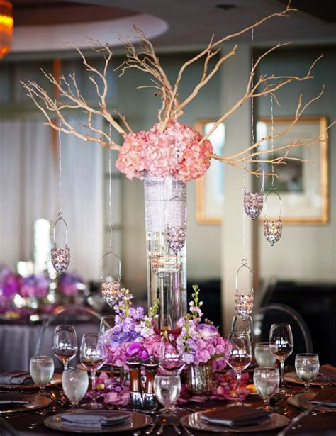 tall wedding centerpiece ideas archives weddings romantique