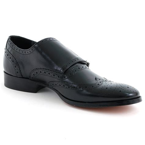mens buckle shoes mens leather dress shoes buckle monk slip on