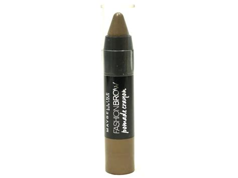 Pomade Maybelline maybelline fashion brow pomade crayon review swatches