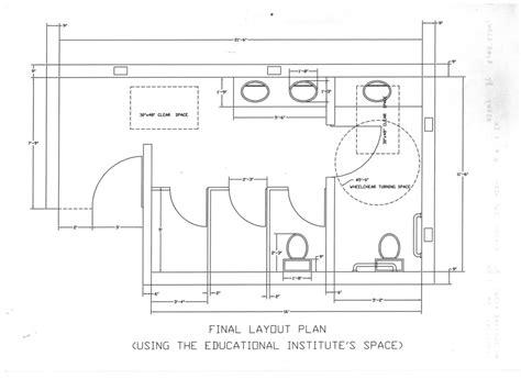 Ada Public Bathroom Dimensions Inspiration Home Designs