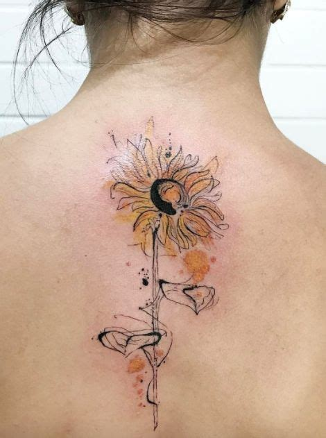 watercolor tattoo utrecht the 25 best watercolor sunflower ideas on