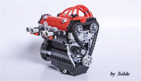 Lego Technic Getway Racer lego 4age rb26dett and boxer engines crankandpiston
