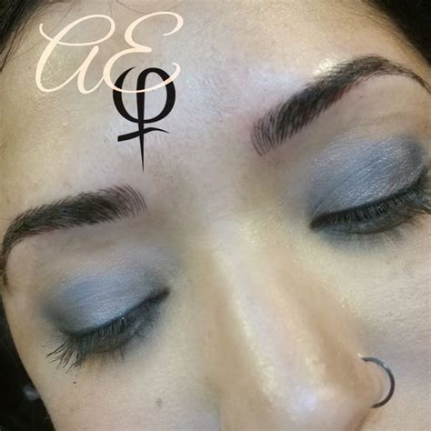 tattoo eyebrows michigan before and after microblading by artist alana everett