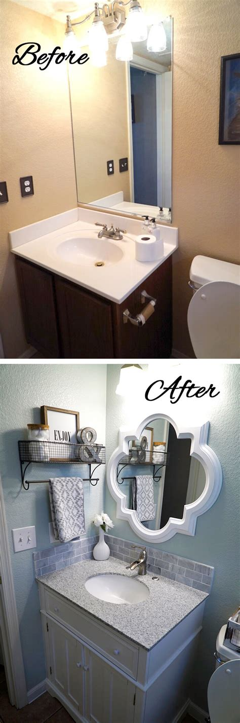 budget friendly bathroom makeover ideas