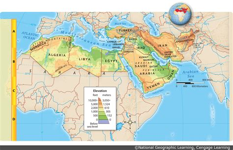 middle east map features regan documents and multimedia from class 14 15