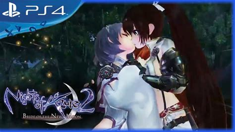 Kaset Ps4 Nights Of Azure 2 Of The New Moon nights of azure 2 of the new moon 2017 gameplay trailer ps4