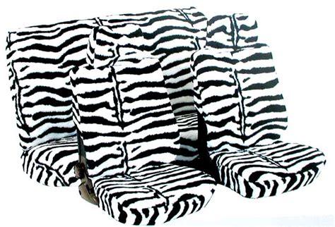Schonbez Ge Auto Lustig by Sitzbezug Zebra Dickes Pl 220 Sch 9 Teiliges Komplettset Ebay