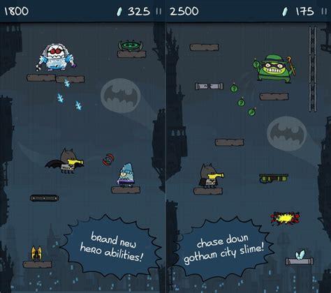 doodle jump za mobitel nowy batman nie to doodle jump przebrany za batmana