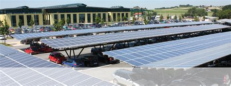 Car Port Solar by Carport Systems Carport Solar Mount System Schletter Gmbh