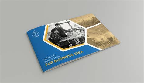 creative design company profile pdf a5 company profile brochure templates creative market
