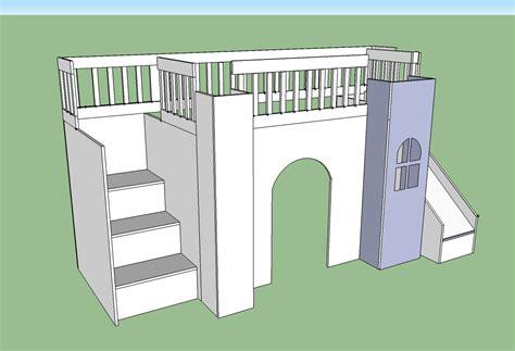 castle loft bed woodworking plans woodshop plans