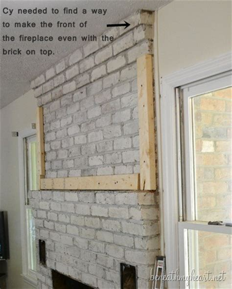 How To Fix A Fireplace Surround by How To Build A Fireplace Surround Beneath