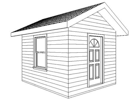Shed Drawing by Image Gallery Shed Drawings