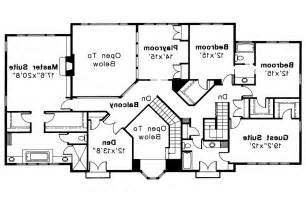 Mediterranean Style Floor Plans mediterranean house plan moderna 30 069 2nd floor plan