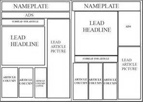 editorial layout template 16 best newspaper template images on classroom