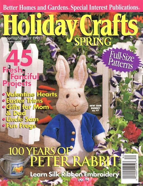 better homes and gardens craft projects better homes and gardens crafts summer 1998