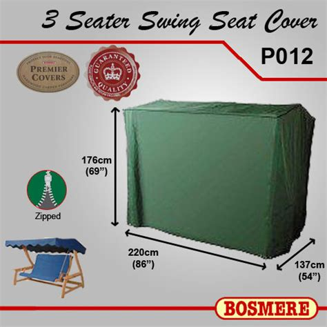 3 seater garden swing cover premier bosmere garden 3 seater swing cover po12
