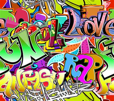 colour graffiti wall mural abstract wall murals
