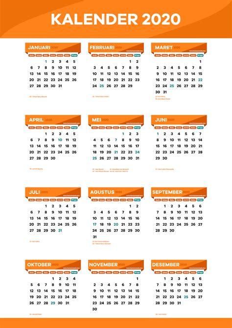 kalender indonesia  format cdr editable png  jpeg lengkap hancaraweb