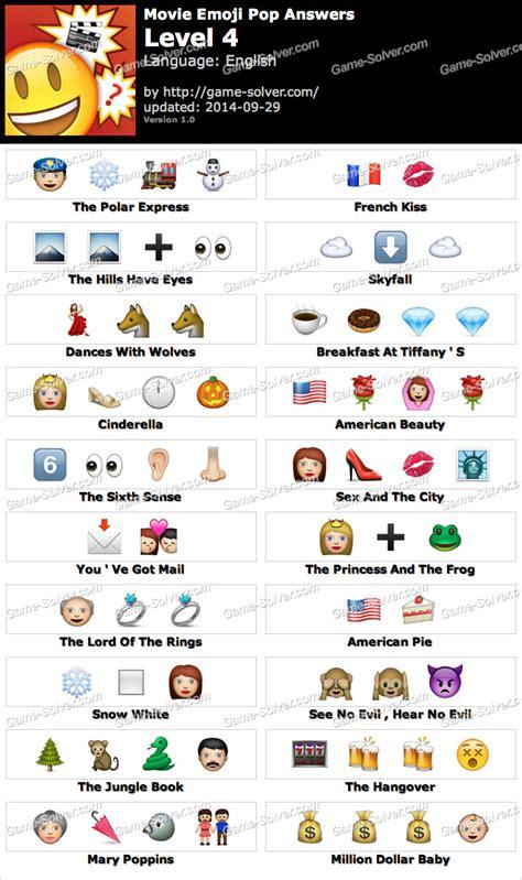 Emoji Film Title Game | guess the emoji movie level 4 emoji world