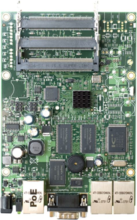 rb 433 rb433 mikrotik routerboard 433 with atheros ar7130 300mhz network cpu 64mb ddr ram