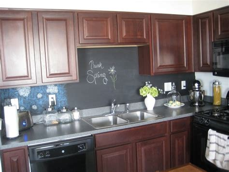 chalkboard kitchen backsplash kitchen backsplash trends for 2015 kitchen remodel