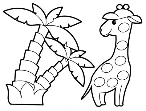free coloring pages baby jungle animals pictures of jungle animals az coloring pages