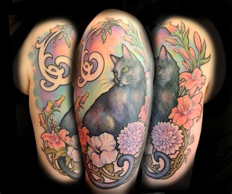 powerline tattoo ri nouveau cat portrait brennan powerline