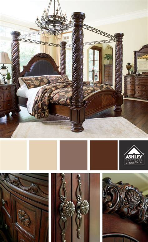 ashley south shore bedroom set love the details and elegant style north shore poster bed