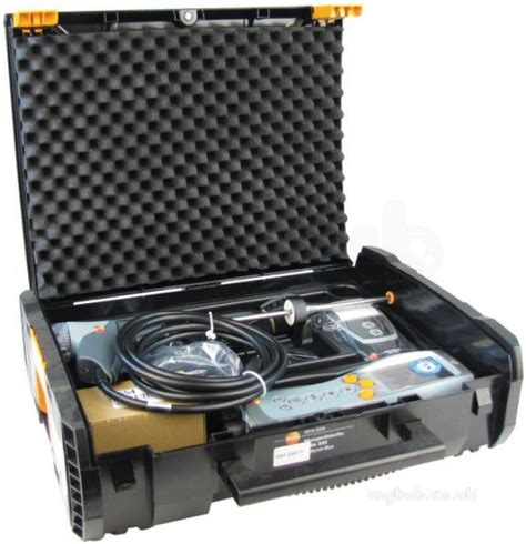 prof testo testo 330 2ll flue gas analyser kit prof testo