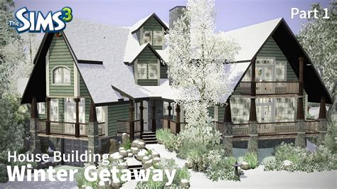 house building like the sims the sims 3 house building winter getaway part 1