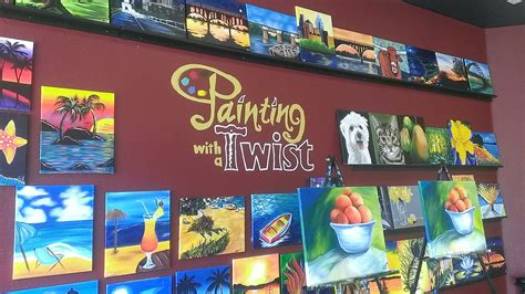 paint with a twist create your masterpiece painting with a twist lake