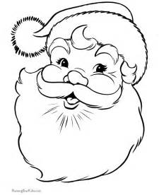 santa claus coloring pages 001