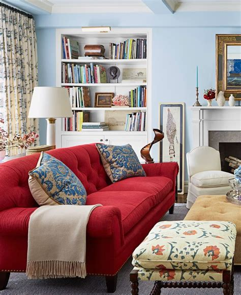 red sofa living room ideas a red sofa really makes a statement the red sofa