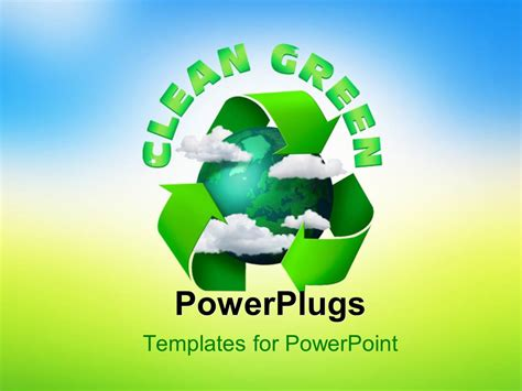 powerpoint template change powerpoint template climate change concept planet earth