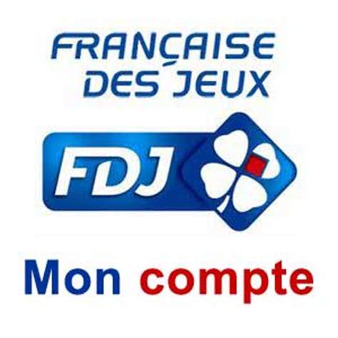 fdj : mon compte française des jeux www.fdj.fr
