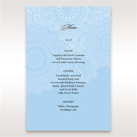 Handmade Menu Cards - refreshingly styled on the day accessory cards feature a